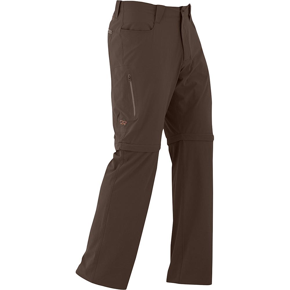 Outdoor Research Mens Ferrosi Convertible Pants 34 - Mushroom - Outdoor Research Mens Apparel - Apparel & Footwear, Men's Apparel