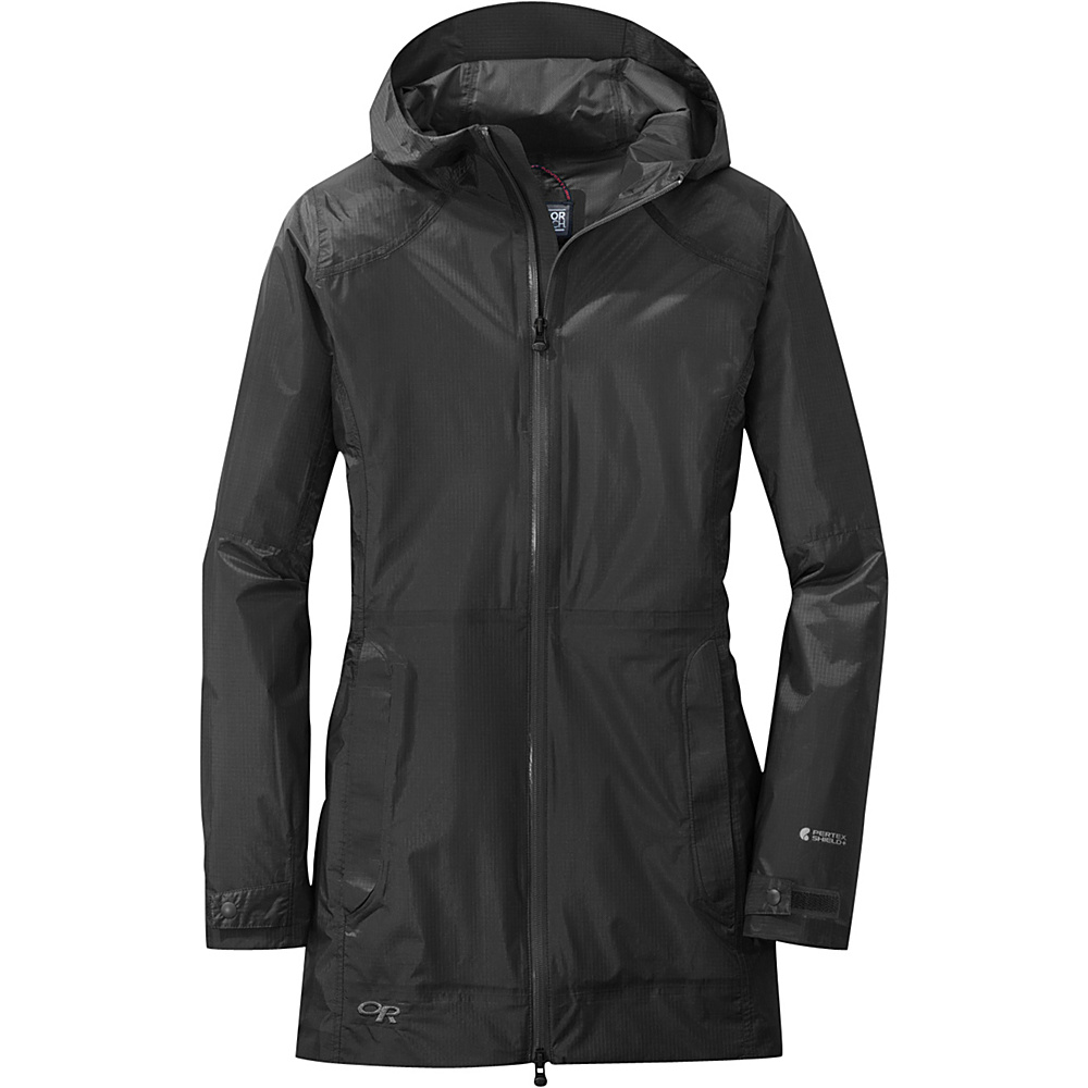 Outdoor Research Womens Helium Traveler Jacket L - Black - Outdoor Research Womens Apparel - Apparel & Footwear, Women's Apparel