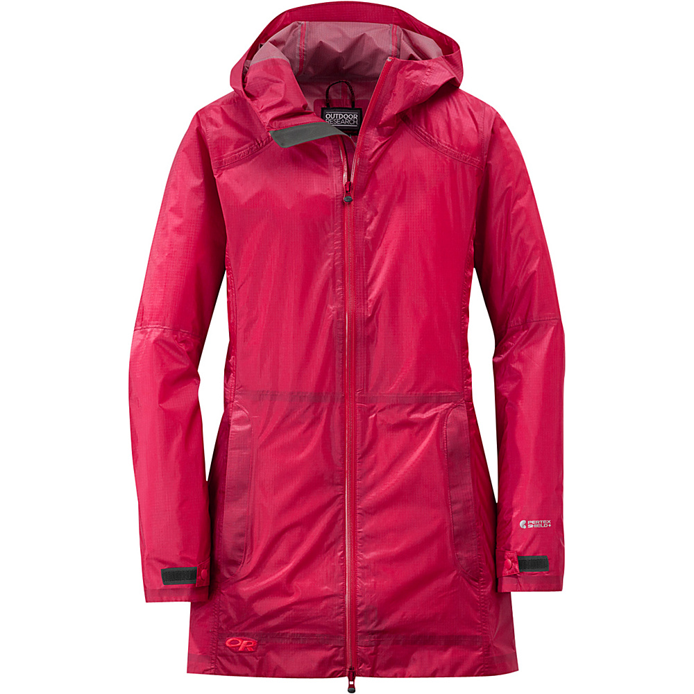 Outdoor Research Womens Helium Traveler Jacket S - Scarlet - Outdoor Research Womens Apparel - Apparel & Footwear, Women's Apparel
