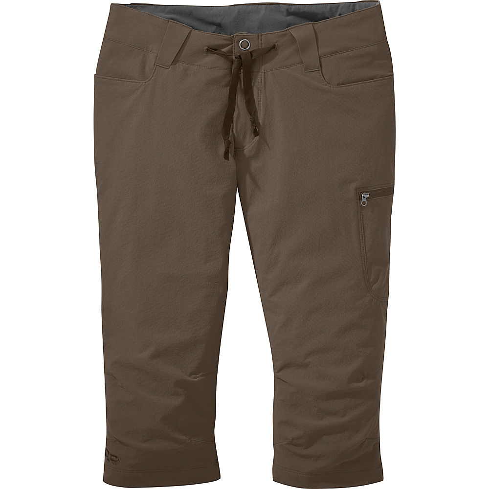 Outdoor Research Womens Ferrosi Capris 6 - Mushroom - Outdoor Research Womens Apparel - Apparel & Footwear, Women's Apparel