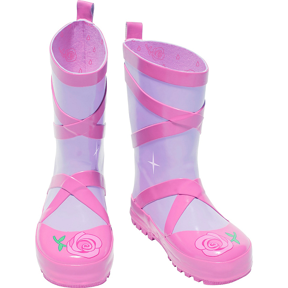 Kidorable Ballerina Rain Boots 8 (US Toddlers) - M (Regular/Medium) - Pink - Kidorable Womens Footwear - Apparel & Footwear, Women's Footwear