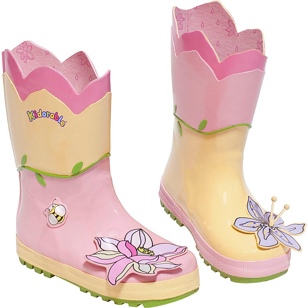 Kidorable Lotus Rain Boots 1 (US Kids) - M (Regular/Medium) - Yellow - Kidorable Mens Footwear - Apparel & Footwear, Men's Footwear