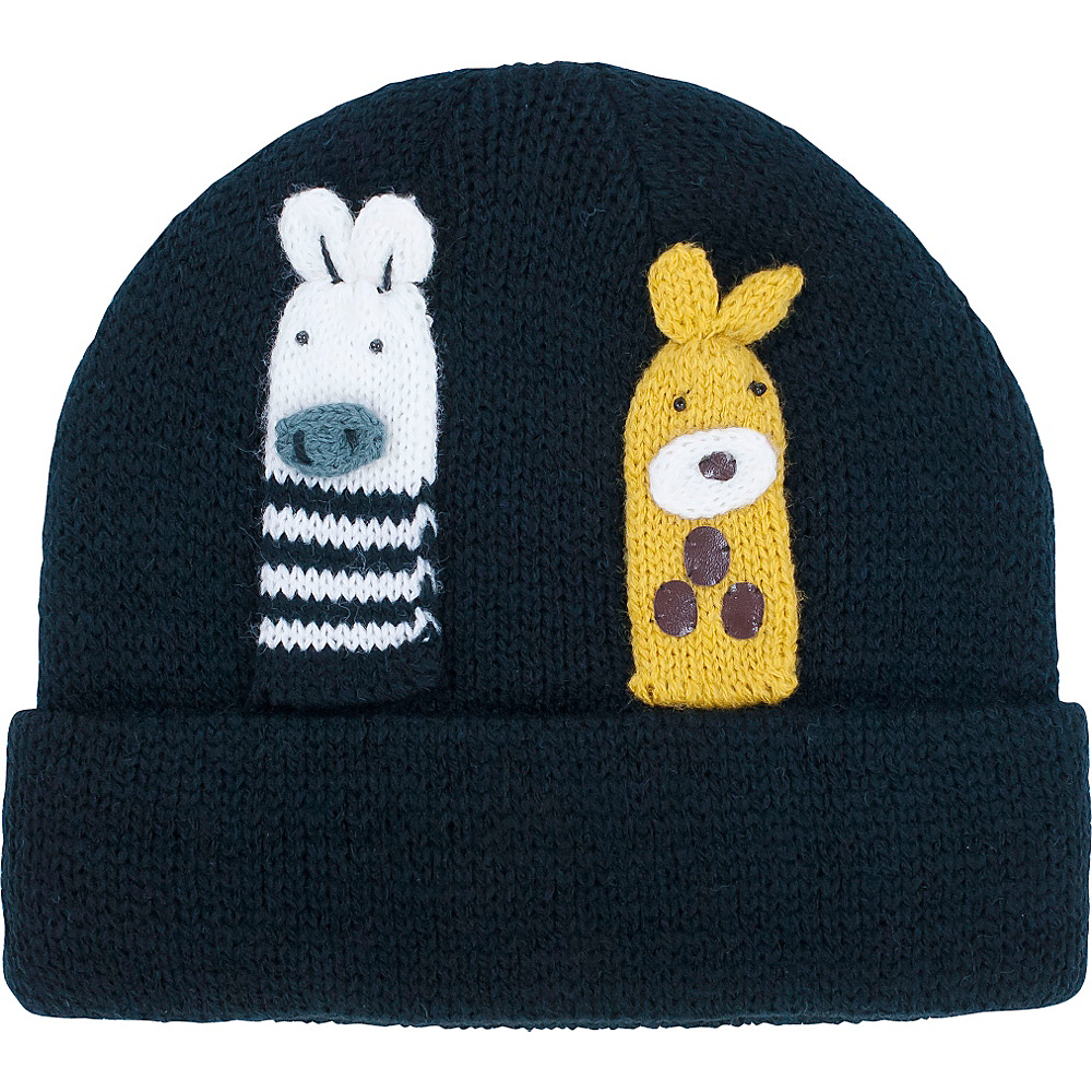 Kidorable Noah Knit Hat Black One Size Kidorable Hats Gloves Scarves