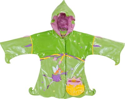 Kidorable Fairy All-Weather Raincoat 3T - Green - Kidorable Men's Apparel