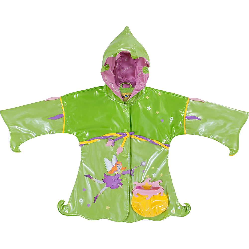 Kidorable Fairy All-Weather Raincoat 4T - Green - Kidorable Womens Apparel - Apparel & Footwear, Women's Apparel