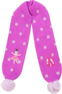 Kidorable Ballerina Knit Scarf Pink - Kidorable Hats/Gloves/Scarves