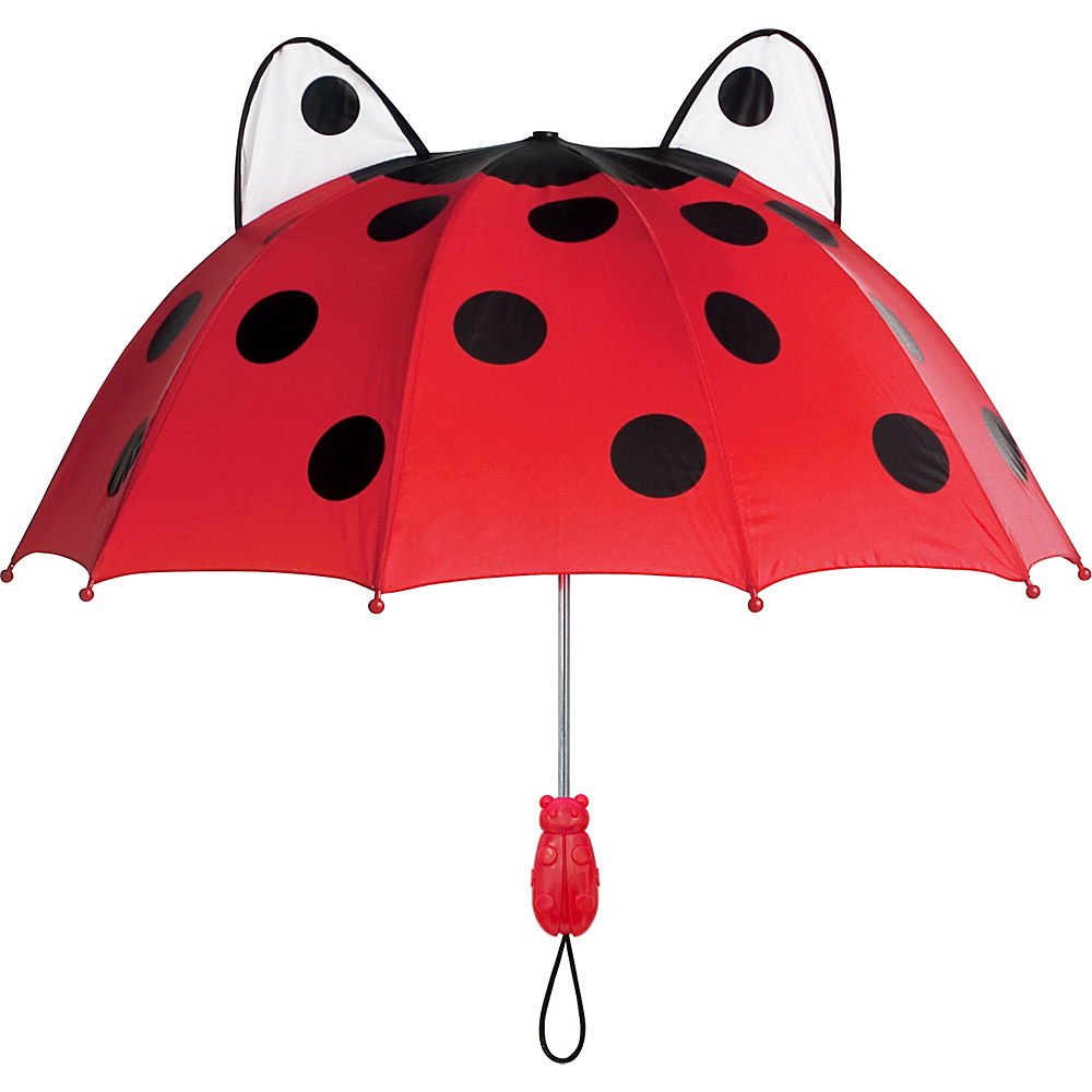 Kidorable Adult Ladybug Umbrella Red - Kidorable Umbrellas and Rain Gear - Fashion Accessories, Umbrellas and Rain Gear