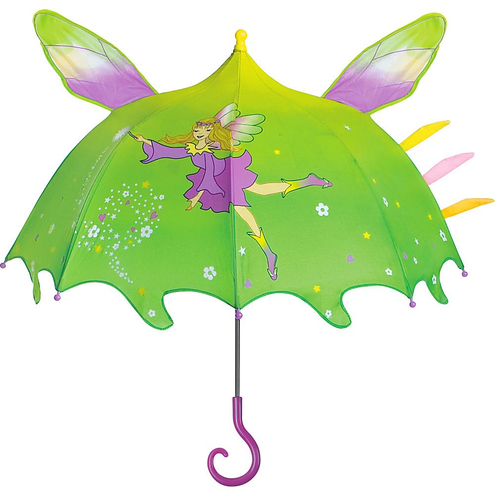 Kidorable Fairy Umbrella Green - One Size - Kidorable Umbrellas and Rain Gear - Travel Accessories, Umbrellas and Rain Gear