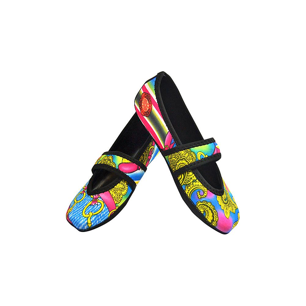 NuFoot Betsy Lou Travel Slipper Patterns XL Pink Bamboo Xlarge NuFoot Women s Footwear