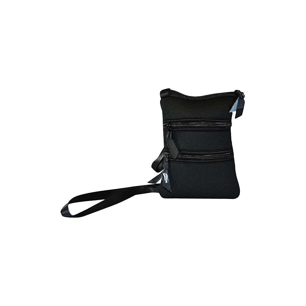NuFoot NuPouch Passport Slings Black NuFoot Travel Wallets
