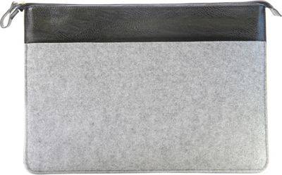 Setton Brothers 15-Inch Wool Felt Sleeve Grey - Setton Brothers Electronic Cases