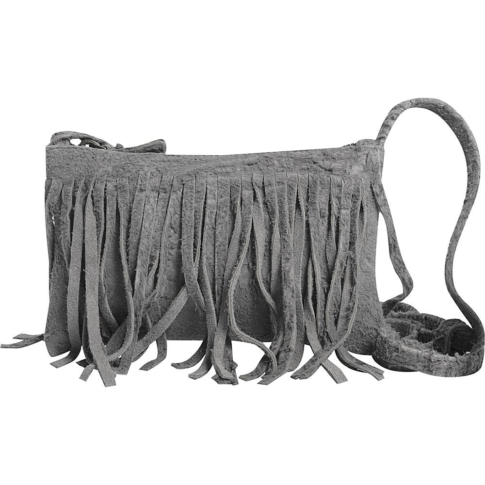 Latico Leathers Joyce Crossbody Grey - Latico Leathers Leather Handbags - Handbags, Leather Handbags