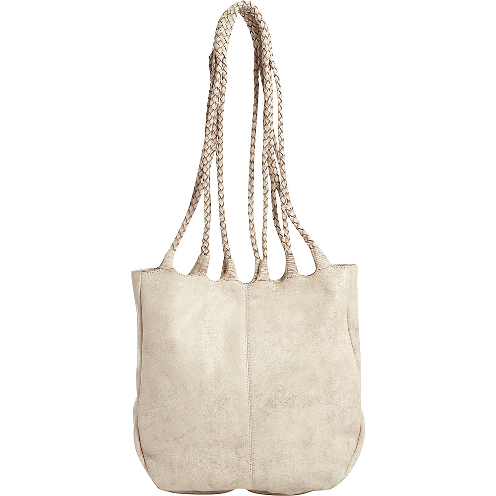 Latico Leathers Ginny Tote Crackle White - Latico Leathers Leather Handbags - Handbags, Leather Handbags