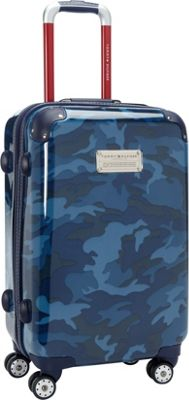 Tommy Hilfiger Luggage East Coast Camo 21 Hardside Carry-On Spinner Navy Camo - Tommy Hilfiger Luggage Hardside Carry-On