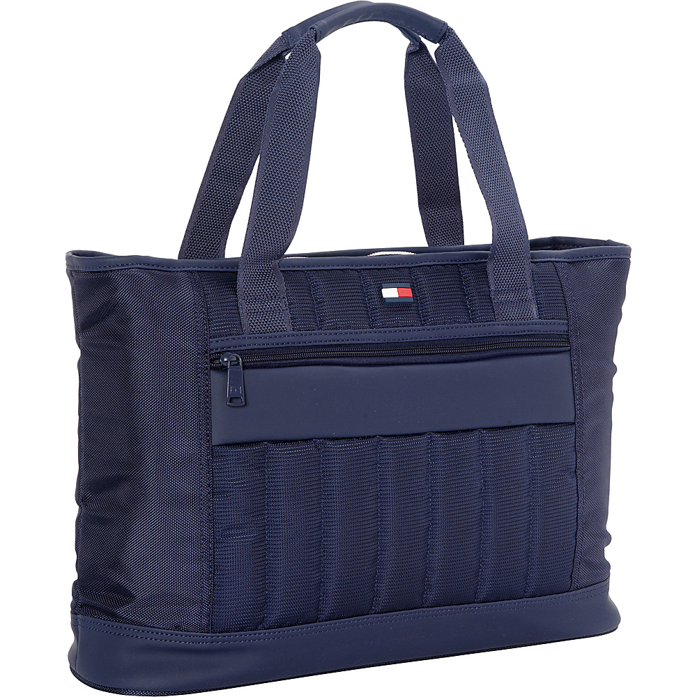 "Tommy Hilfiger Luggage Classic Sport 17"" Weekender Shopper Tote Navy/Navy - Tommy Hilfiger Luggage Luggage Totes and Satchels"