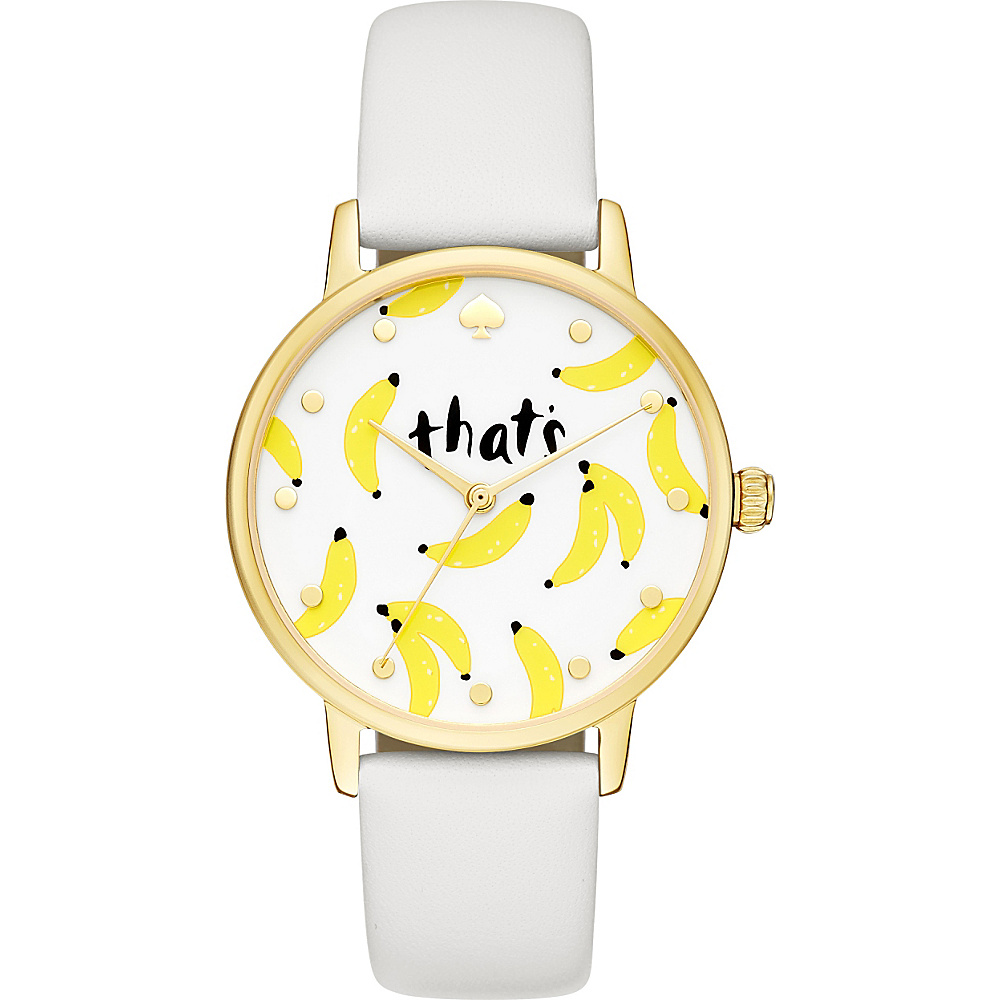 kate spade watches Metro Watch White kate spade watches Watches