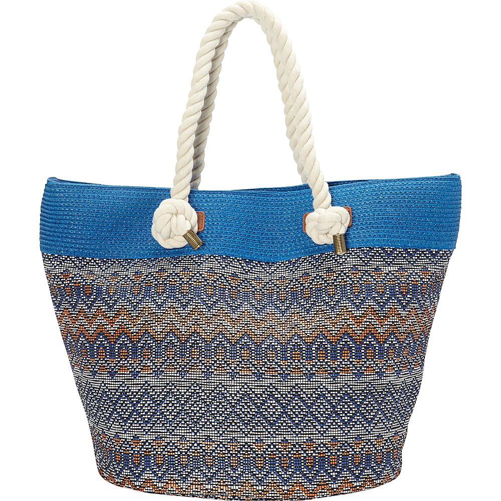 Sun N Sand Miramar Tote Demin - Sun N Sand Fabric Handbags - Handbags, Fabric Handbags