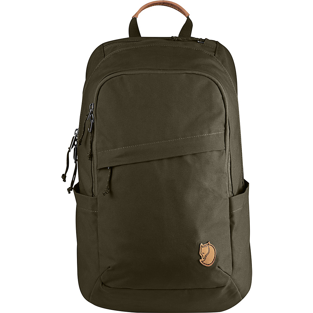 Fjallraven Raven 20L Backpack Dark Olive - Fjallraven Business & Laptop Backpacks - Backpacks, Business & Laptop Backpacks