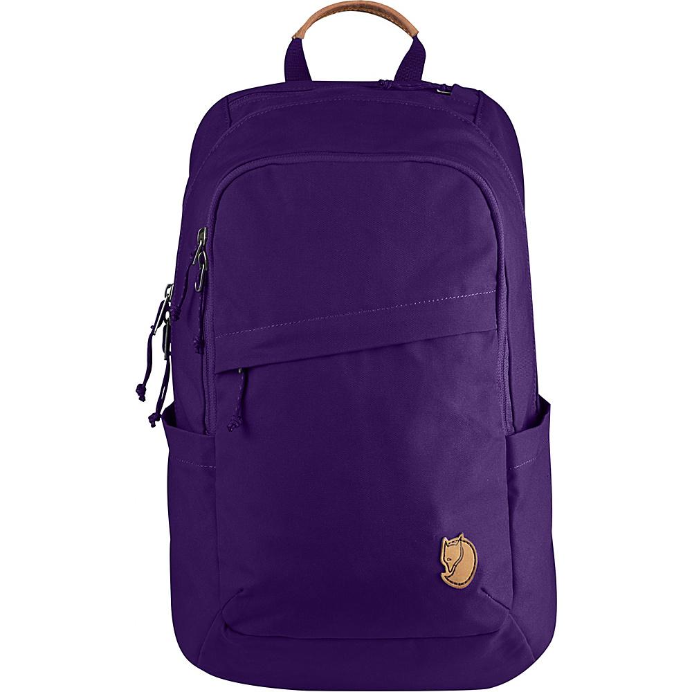 Fjallraven Raven 20L Backpack Purple - Fjallraven Business & Laptop Backpacks - Backpacks, Business & Laptop Backpacks