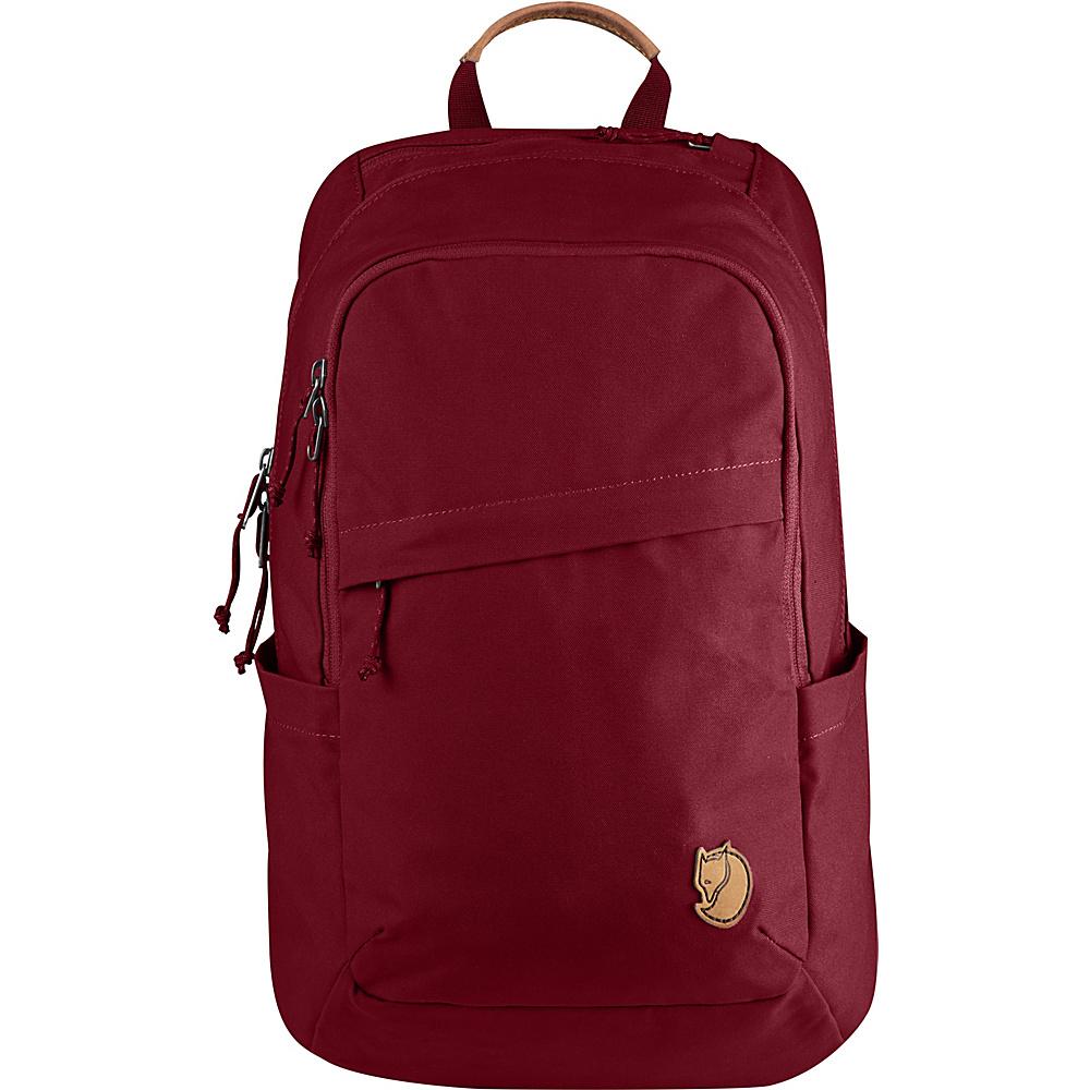 Fjallraven Raven 20L Backpack Redwood - Fjallraven Business & Laptop Backpacks - Backpacks, Business & Laptop Backpacks
