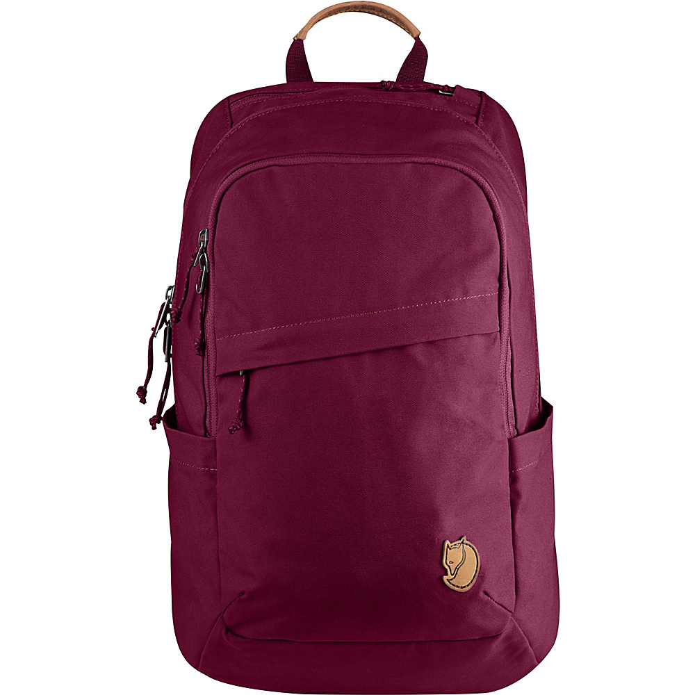 Fjallraven Raven 20L Backpack Plum - Fjallraven Business & Laptop Backpacks - Backpacks, Business & Laptop Backpacks