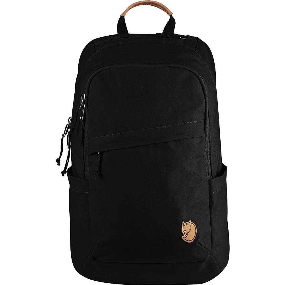 Fjallraven Raven 20L Backpack Black - Fjallraven Business & Laptop Backpacks - Backpacks, Business & Laptop Backpacks