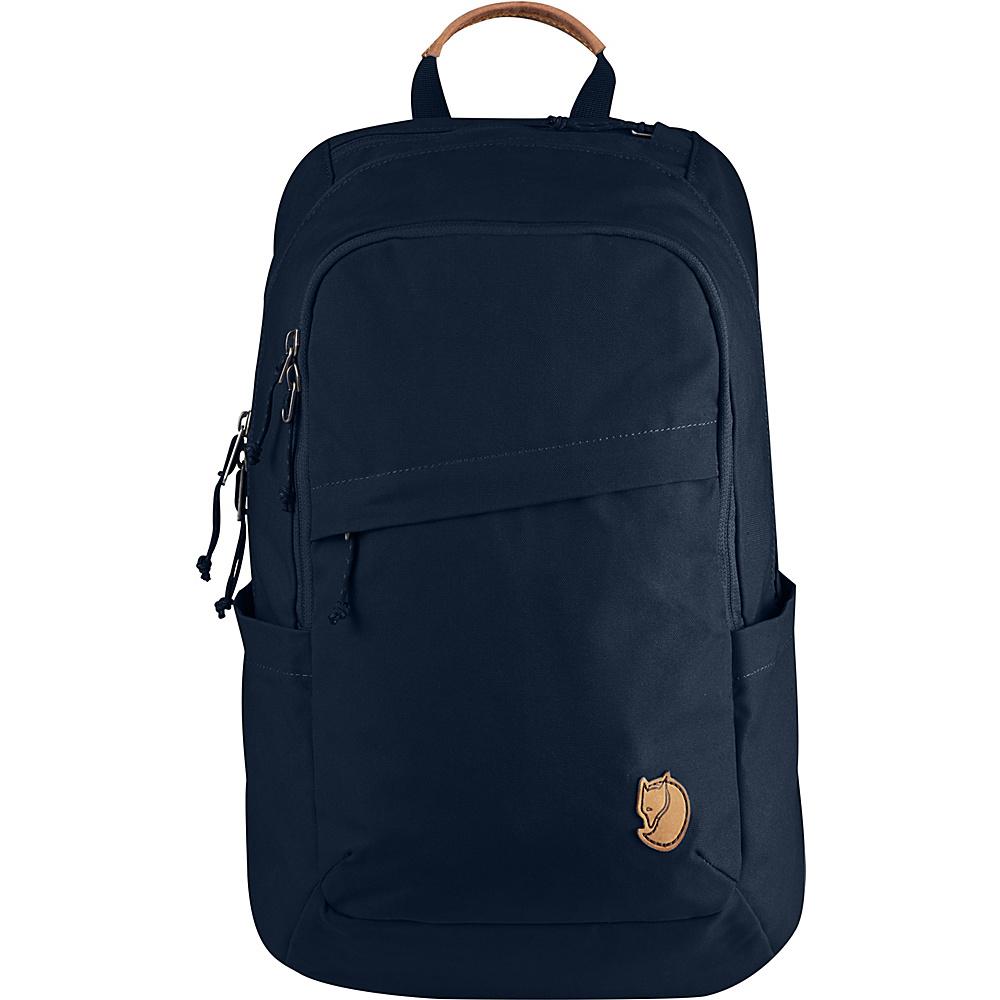 Fjallraven Raven 20L Backpack Navy - Fjallraven Business & Laptop Backpacks - Backpacks, Business & Laptop Backpacks