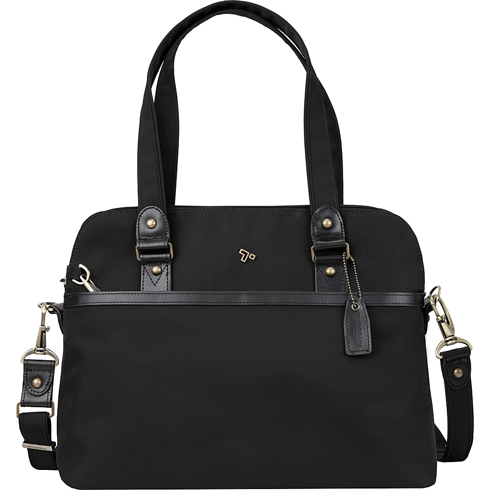 Travelon Anti-Theft LTD Satchel Black - Travelon Fabric Handbags - Handbags, Fabric Handbags