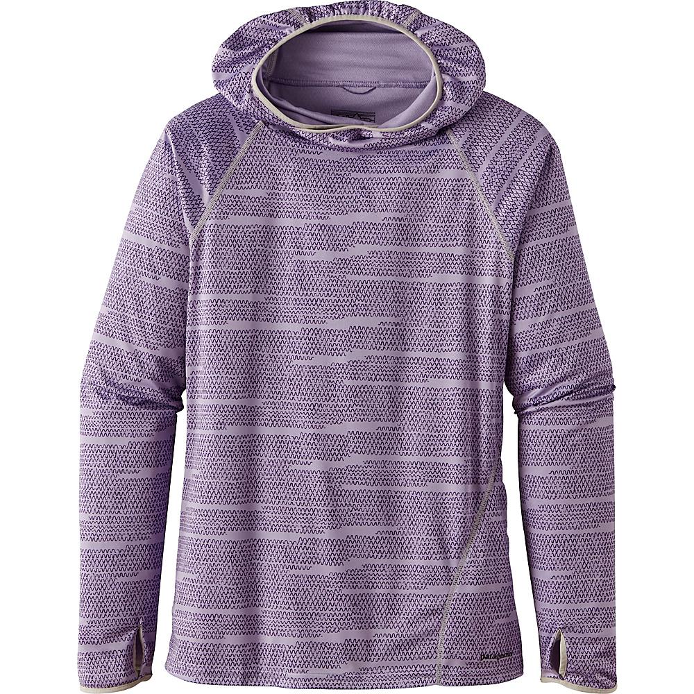 Patagonia Womens Sunshade Hoody S - Wavelength: Petoskey Purple - Patagonia Womens Apparel - Apparel & Footwear, Women's Apparel