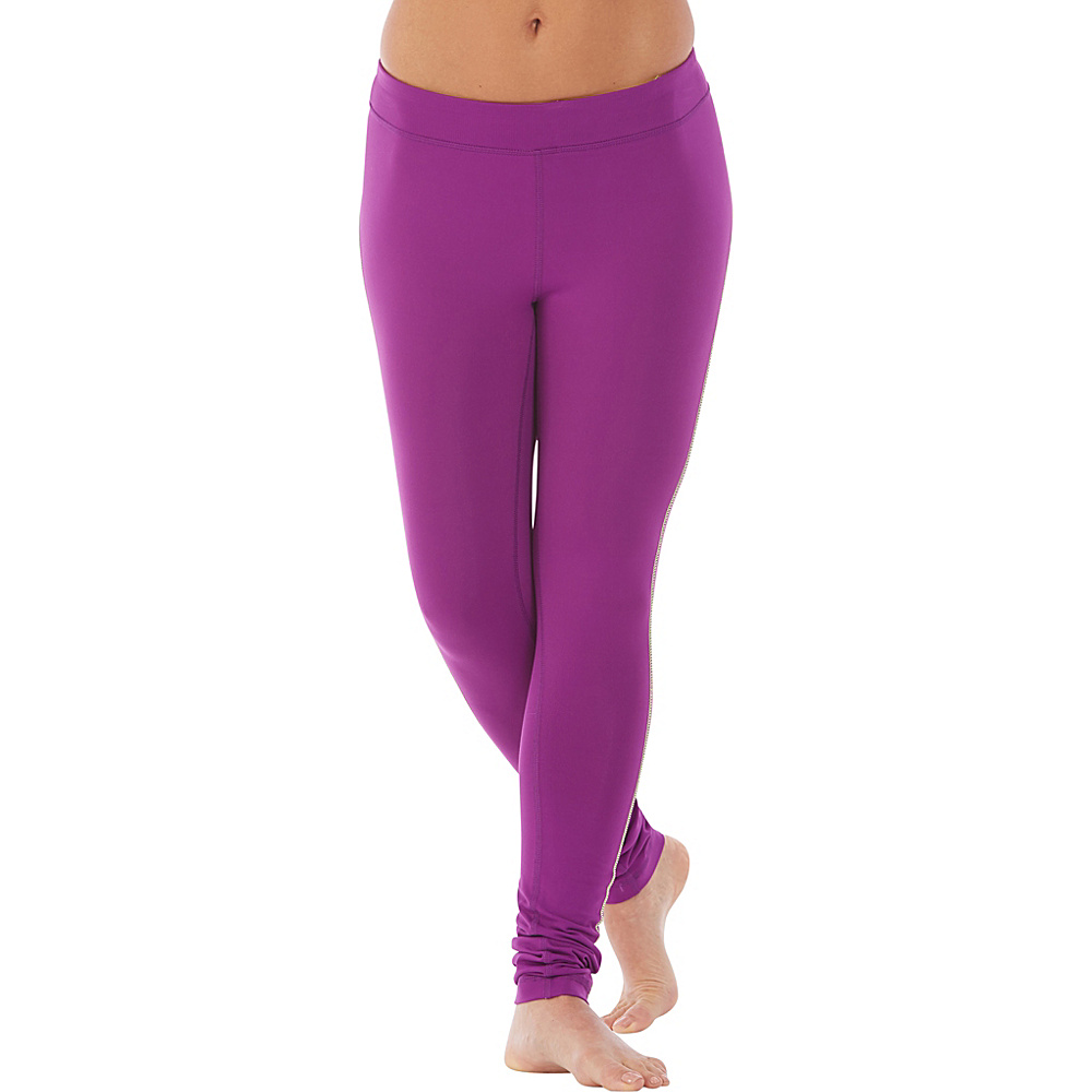 Electric Yoga Barney Pants L Purple Electric Yoga Women s Apparel