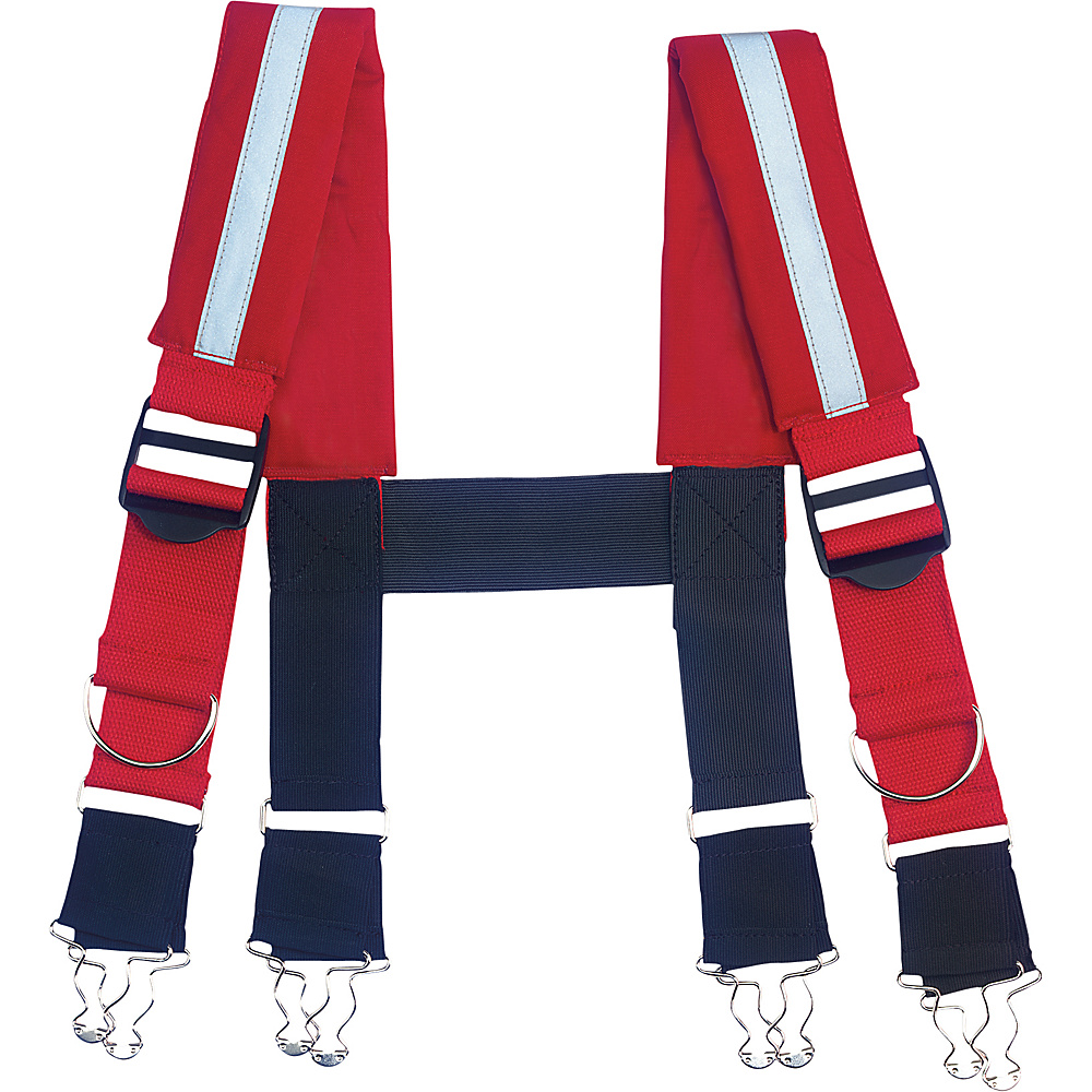 Ergodyne GB5093 Suspenders Quick Adj Reflective Red SM Ergodyne Other Fashion Accessories