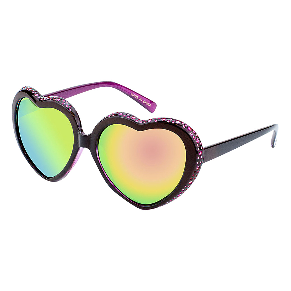 SW Global Eyewear Mimi Heart-Shaped Fashion Sunglasses Pink - SW Global Sunglasses - Fashion Accessories, Sunglasses