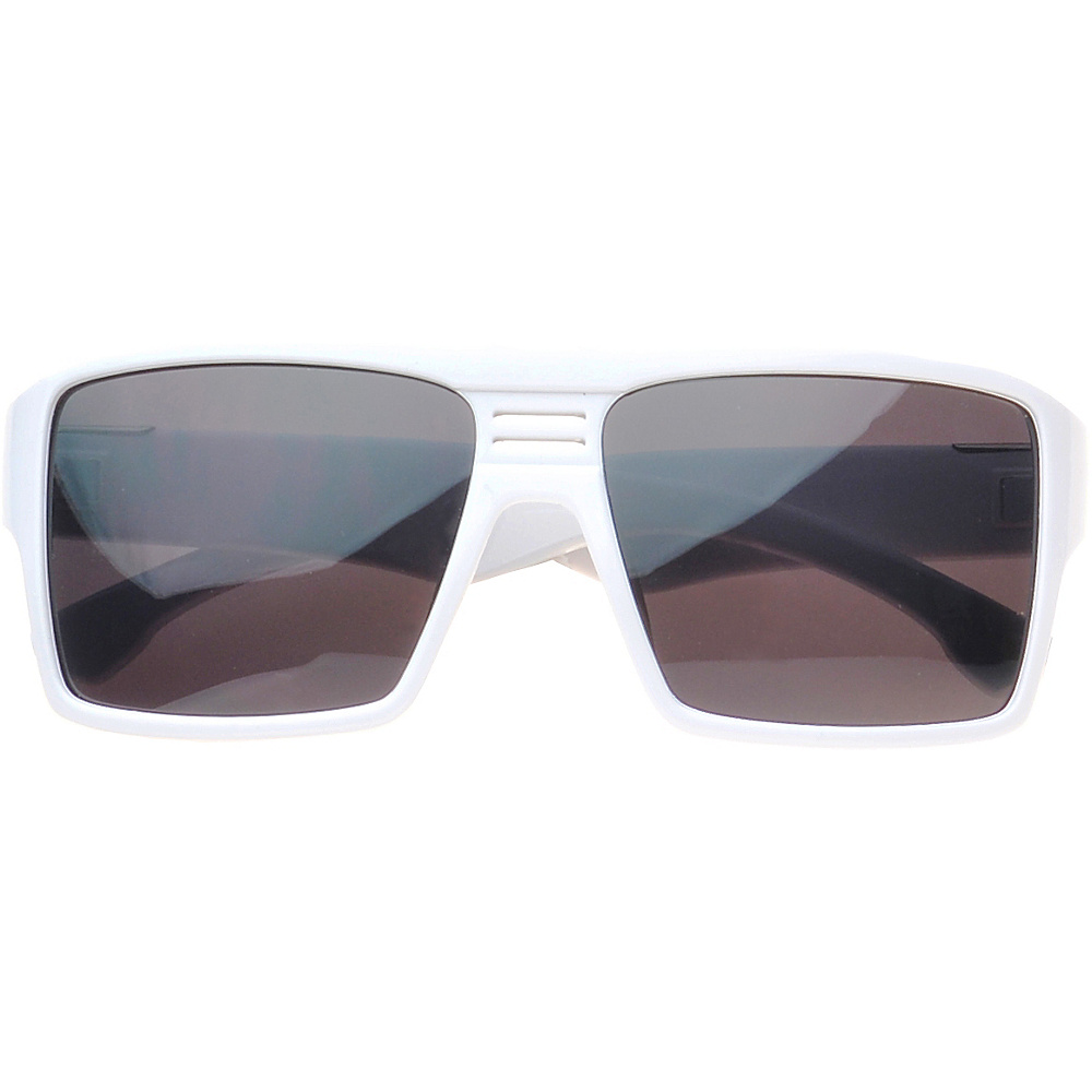 SW Global Eyewear Delano Rectangle Fashion Sunglasses White - SW Global Sunglasses - Fashion Accessories, Sunglasses