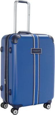 Tommy Hilfiger Luggage Classic Hardside 25 Upright Spinner Blue - Tommy Hilfiger Luggage Hardside Checked