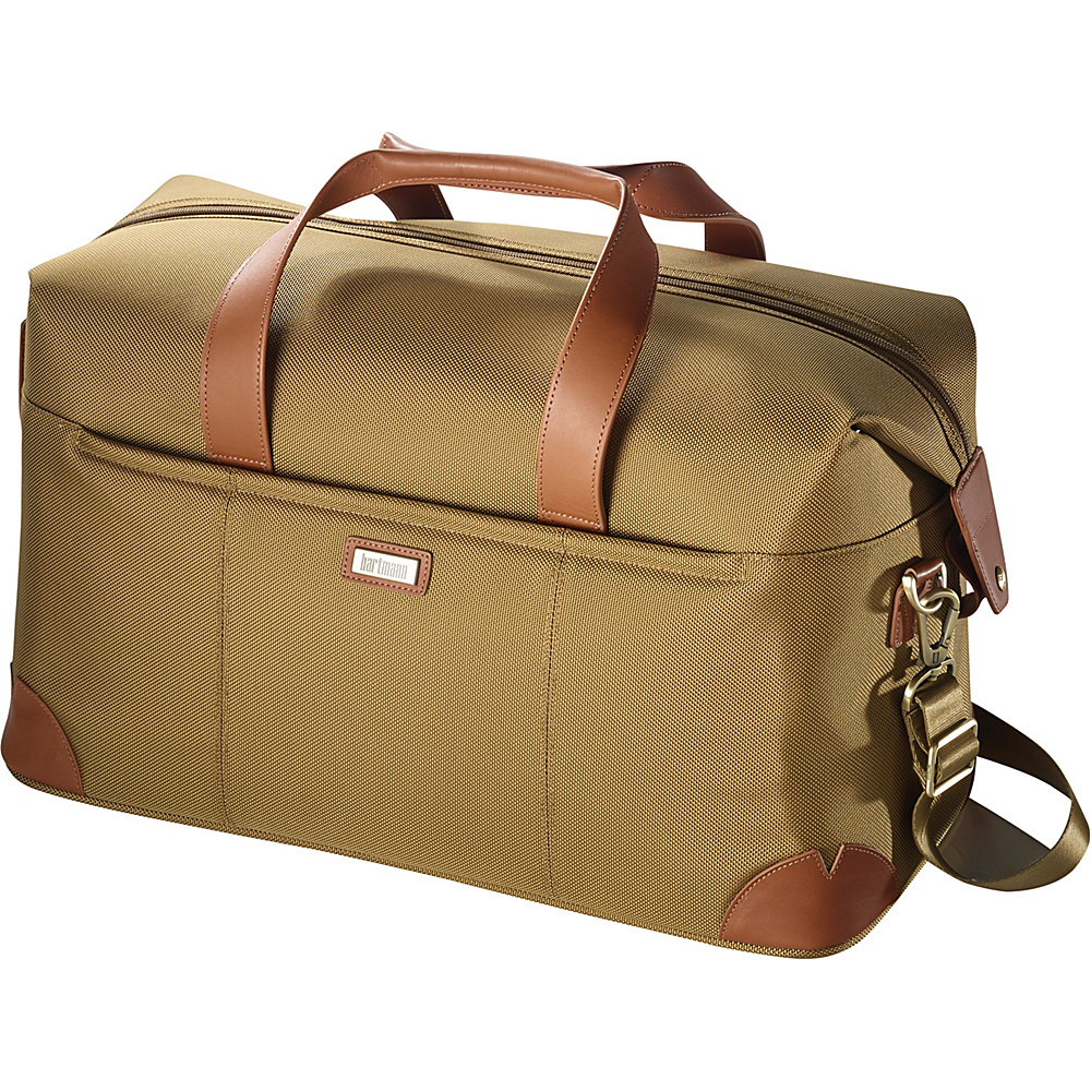 Hartmann Luggage Ratio Classic Deluxe Weekend Duffel Safari Hartmann Luggage Rolling Duffels