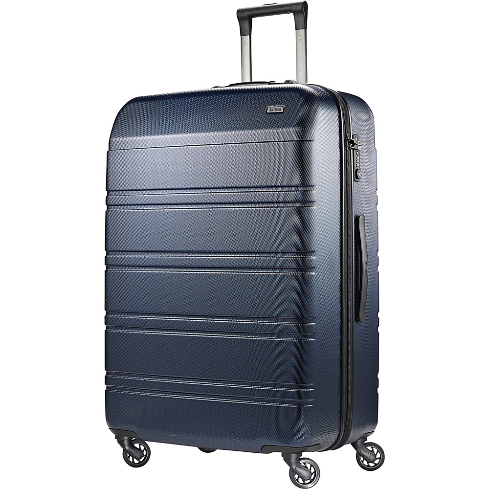 Hartmann Luggage Vigor 2 Extended Journey Spinner Midnight Navy Hartmann Luggage Hardside Checked