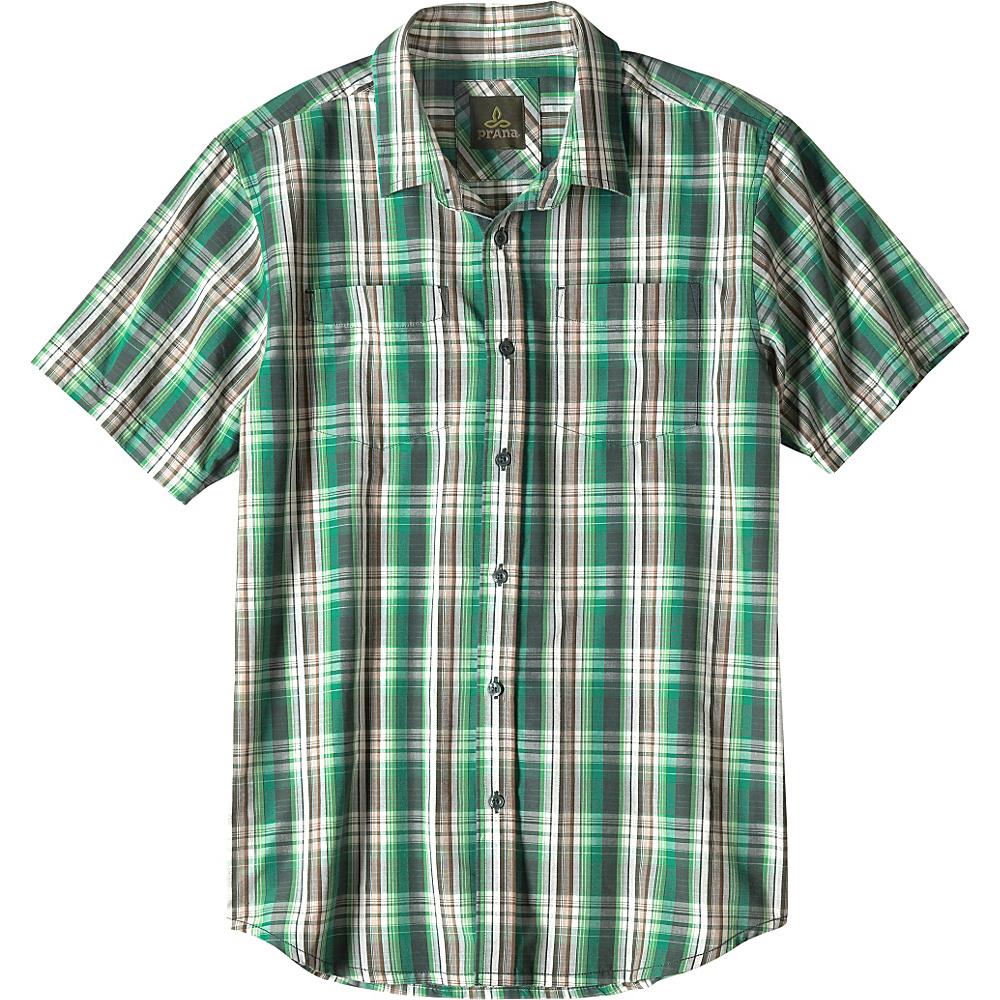 PrAna Holten Shirt S - Evergreen - PrAna Mens Apparel - Apparel & Footwear, Men's Apparel