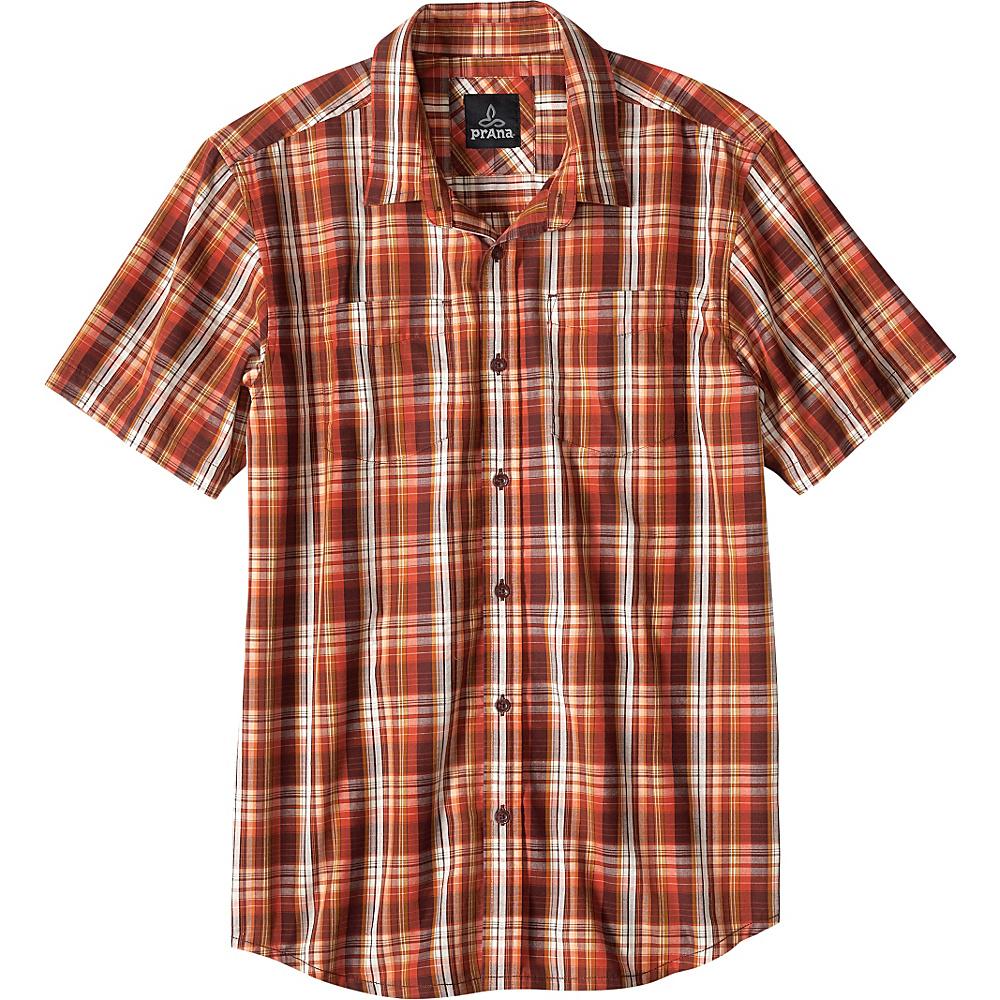 PrAna Holten Shirt S - Raisin - PrAna Mens Apparel - Apparel & Footwear, Men's Apparel