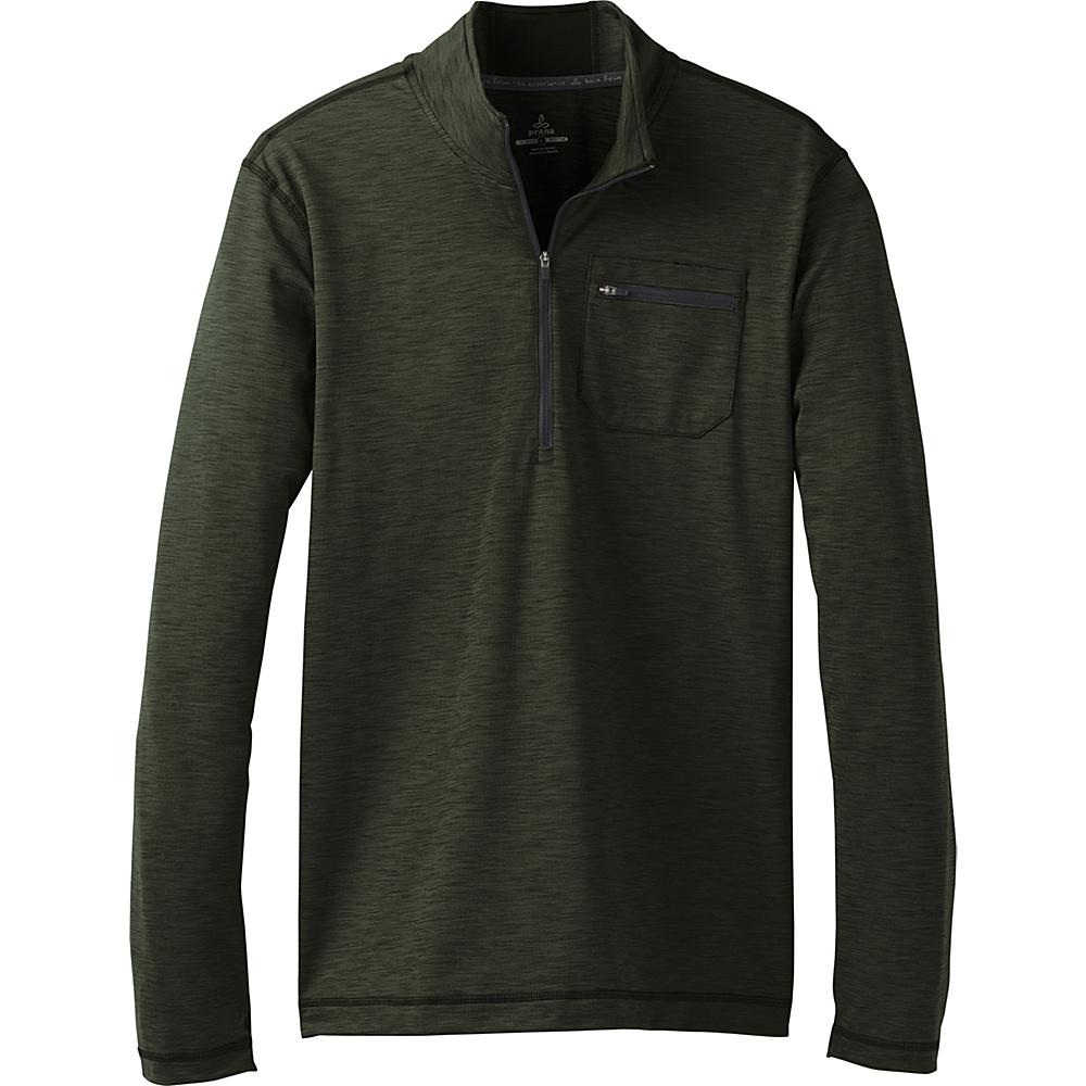 PrAna Zylo 1/4 Zip S - Cargo Green - PrAna Mens Apparel - Apparel & Footwear, Men's Apparel