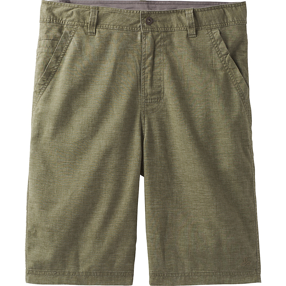 PrAna Furrow Shorts 33 - Cargo Green - PrAna Mens Apparel - Apparel & Footwear, Men's Apparel