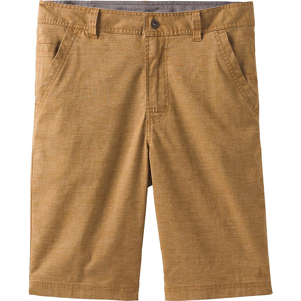 PrAna Furrow Shorts 32 - Dark Ginger - PrAna Mens Apparel - Apparel & Footwear, Men's Apparel