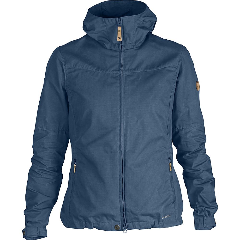 Fjallraven Womens Stina Jacket S - Uncle Blue - Fjallraven Mens Apparel - Apparel & Footwear, Men's Apparel