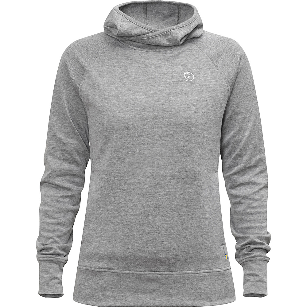 Fjallraven Womens High Coast Hoodie S - Grey - Large - Fjallraven Womens Apparel - Apparel & Footwear, Women's Apparel