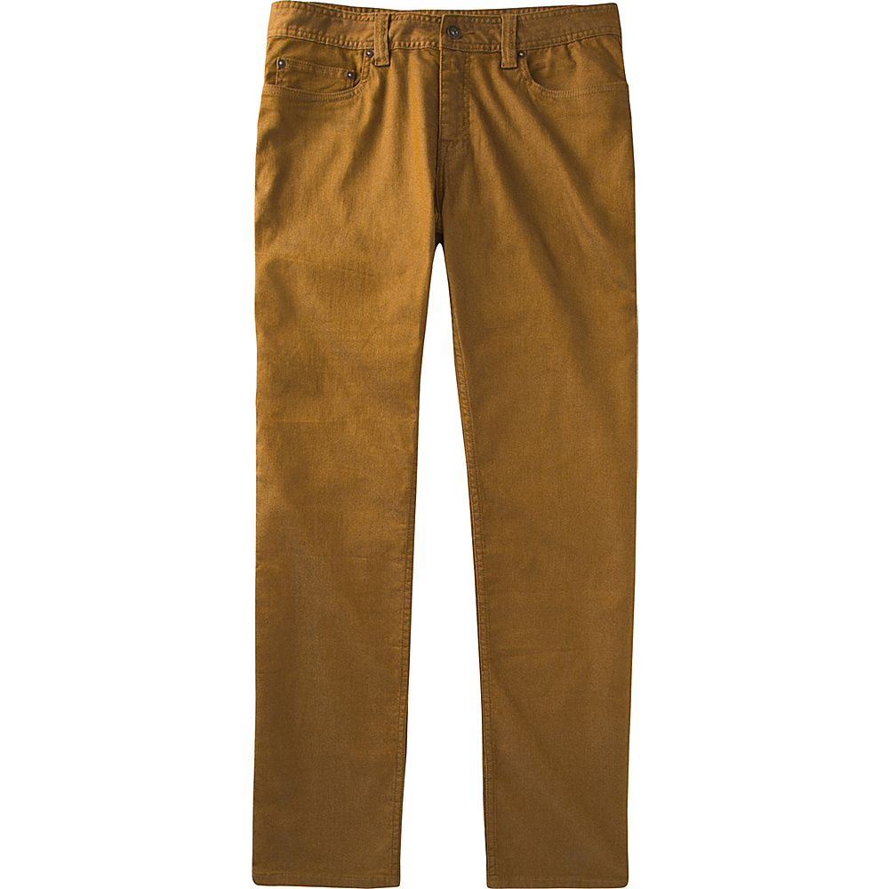 PrAna Bridger Jeans - 34 Inseam 32 - Dark Ginger - PrAna Mens Apparel - Apparel & Footwear, Men's Apparel