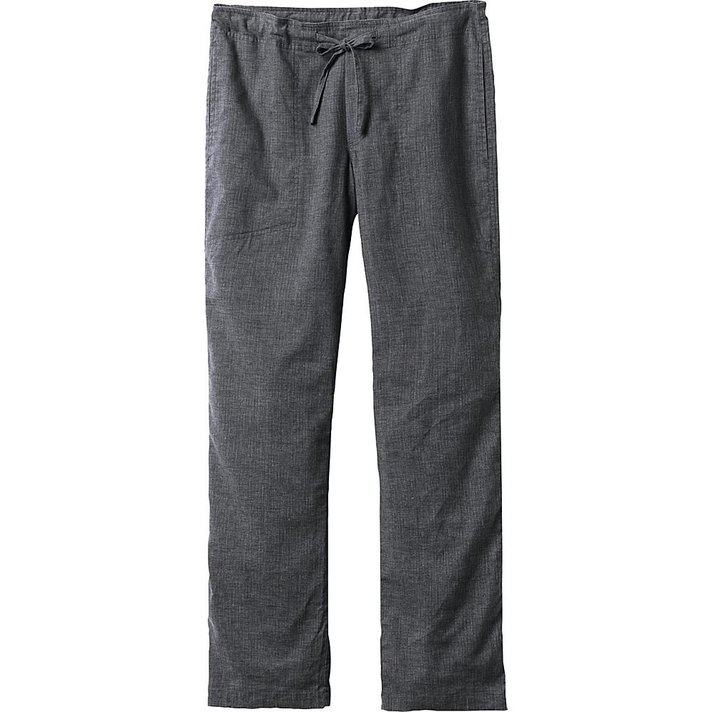 PrAna Sutra Pants - 30 Inseam S - 30in - Black Herringbone - PrAna Mens Apparel - Apparel & Footwear, Men's Apparel