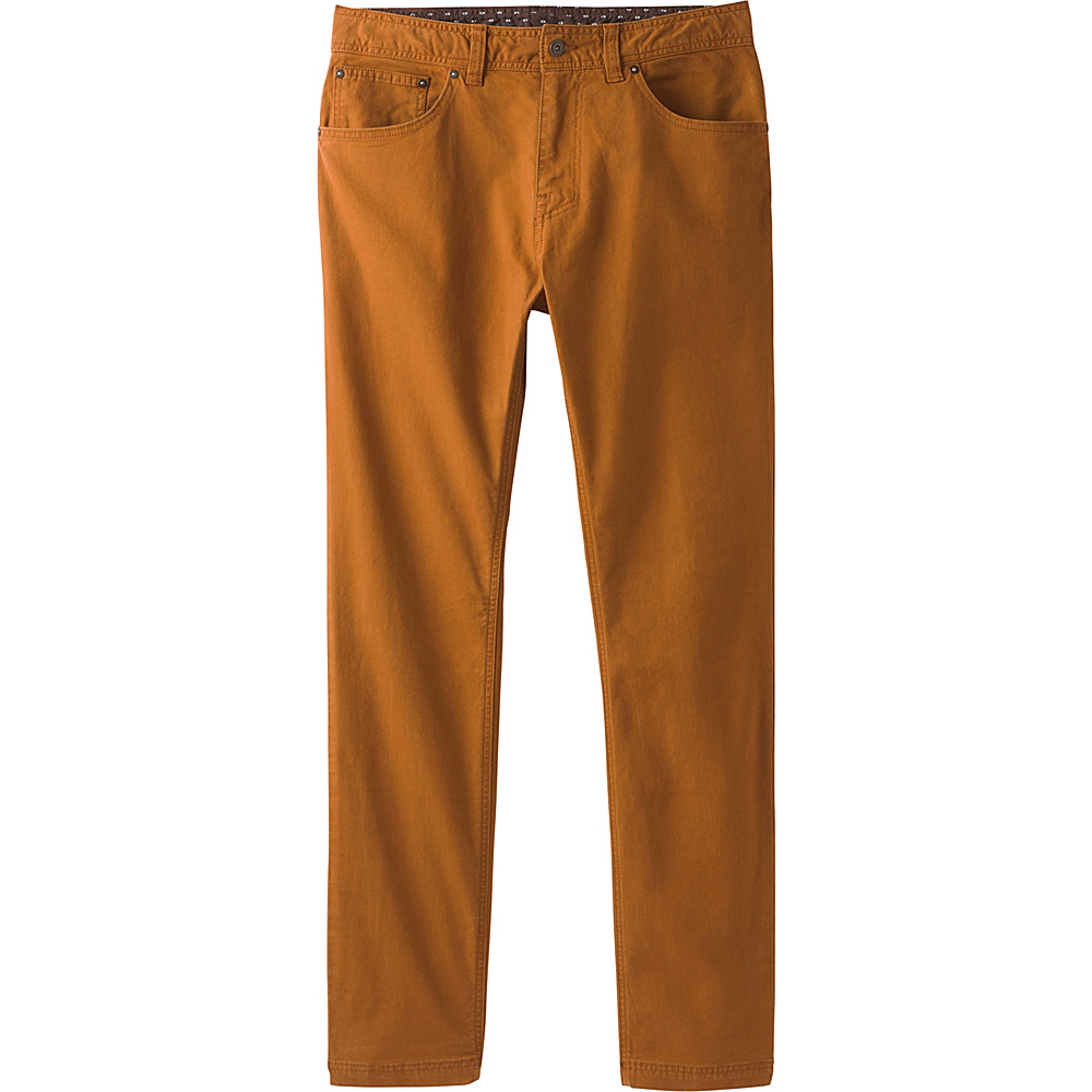 PrAna Tuscon Slim Fit Pants - 34 Inseam 33 - Cumin - PrAna Mens Apparel - Apparel & Footwear, Men's Apparel