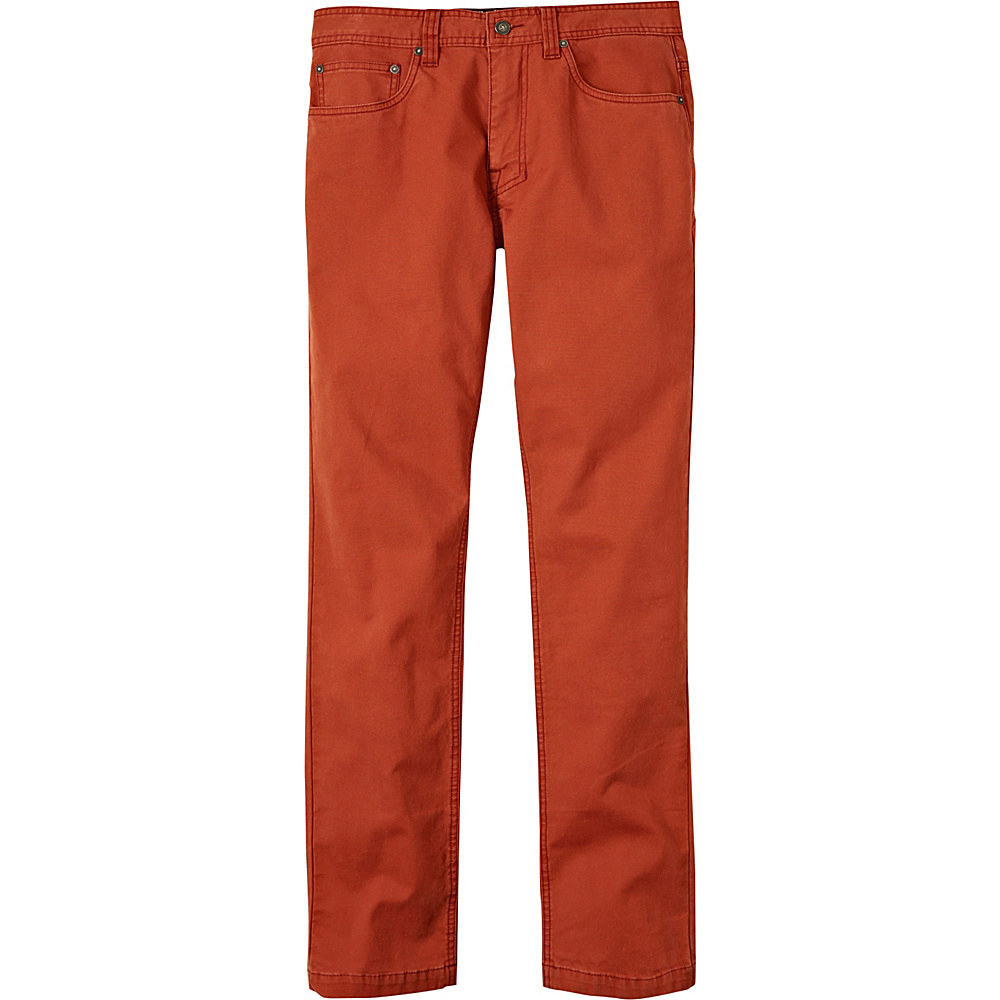 PrAna Tuscon Slim Fit Pants - 34 Inseam 32 - Henna - PrAna Mens Apparel - Apparel & Footwear, Men's Apparel