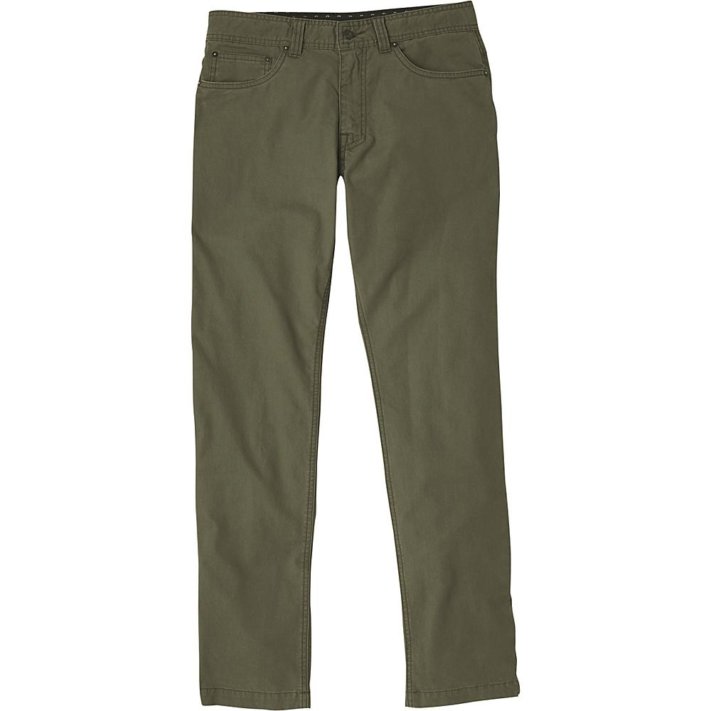 PrAna Tuscon Slim Fit Pants - 34 Inseam 32 - Cargo Green - PrAna Mens Apparel - Apparel & Footwear, Men's Apparel