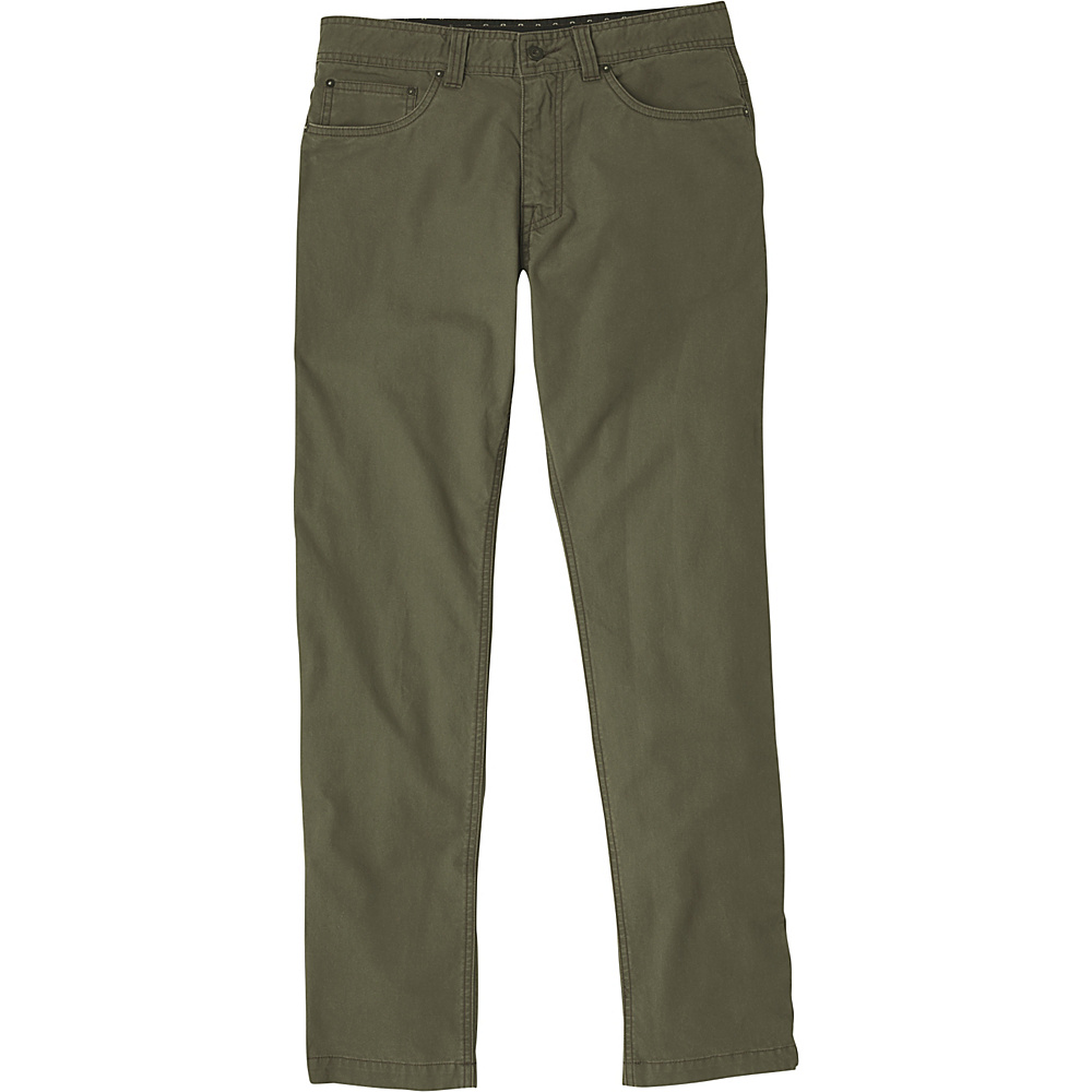 PrAna Tuscon Slim Fit Pants - 34 Inseam 34 - Cargo Green - PrAna Mens Apparel - Apparel & Footwear, Men's Apparel