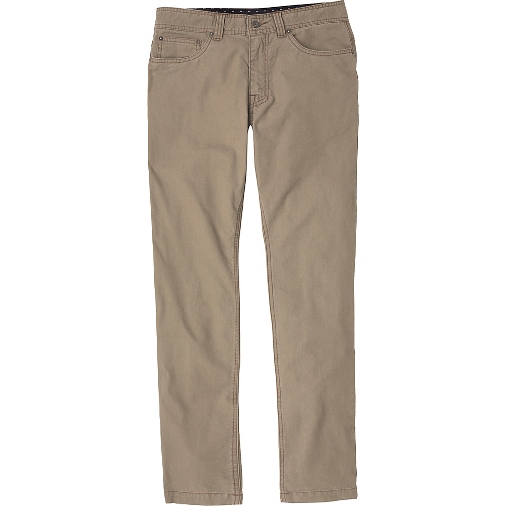 PrAna Tuscon Slim Fit Pants - 34 Inseam 30 - Dark Khaki - PrAna Mens Apparel - Apparel & Footwear, Men's Apparel
